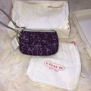 Brand New Coach coin purse/wristlet